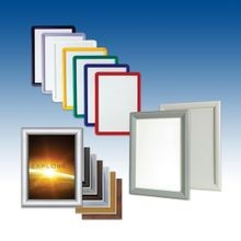 Unassembled Snap Frame Profiles