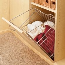 Tilt-Out Hamper