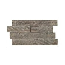 High Density Polyurethane Rustic Barnwood Interlocking Faux Stone Panel