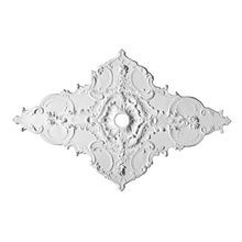 Focal Point | 43-1/2in H x 67-1/2in W | Primed White Polyurethane | Decorative Ceiling Medallion