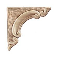 4-1/2in W x 4-1/2in H | Unfinished Maple Embossed Wood Veneer | Small Applique
