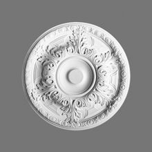 Orac Decor | High Density Polyurethane Ceiling Medallion | Primed White | 19-1/4in Dia