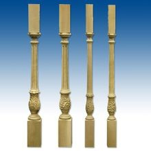 Balusters Hand Carved (Maple/White Oak/Cherry)