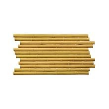 High Density Polyurethane Bamboo Large Interlocking Faux Stone Panel