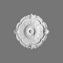 Orac Decor | High Density Polyurethane Ceiling Medallion | Primed White | 15-1/8in Dia