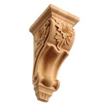 Unfinished | Solid North American Hardwood Corbel | RWC47 Series