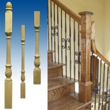 Newel Posts and Balusters