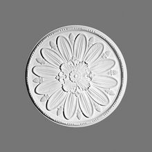 Orac Decor | High Density Polyurethane Ceiling Medallion | Primed White | 29-7/8in Dia