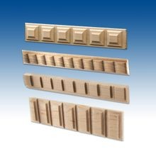 Square Accent Mouldings