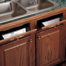 Sink Front Tip-Out Trays