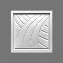 Orac Decor | High Density Polyurethane 3D Decorative Element | Applique | Primed White | 3-9/16in H x 3-9/16in W