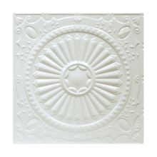 2' Square Egg Shell Lay In Premium Decorative Stamped Steel Ceiling Panel
