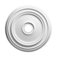 Focal Point | 12-3/8in | Primed White Polyurethane | Smooth Ceiling Medallion