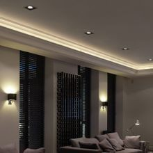 Crown Mouldings for Indirect Lighting by Orac Decor