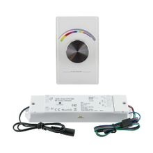 Wireless Wall Type | RF RGB Controller with Receiver | 12V/24V