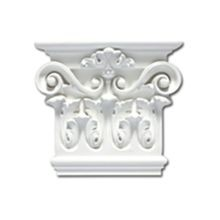 Focal Point | 8-3/8in W x 7-1/4in H | Primed White Polyurethane | Capital | Style 97910