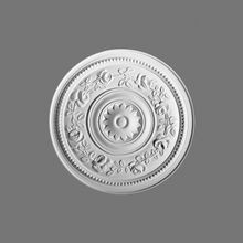 Orac Decor | High Density Polyurethane Ceiling Medallion | Primed White | 15-3/4in Dia