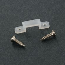 10mm Silicone Mounting Clips with 2 Screws