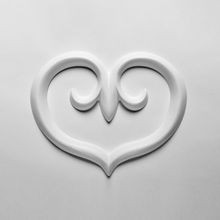 Orac Decor | High Density Polyurethane | 3D Decorative Element | Scala Wall Element | Primed White | 8-1/4in H x 10-5/8in W