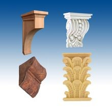 Decorative Carved Corbels and Brackets
