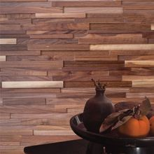 3D Solid Wood Panels for Walls
