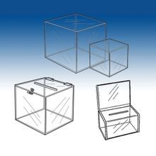 Acrylic Boxes and Cubes