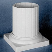 Standard Caps and Bases for Aluminum Columns