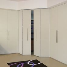 Top Sliding Folding Door System ( Wood Doors-2 Doors)