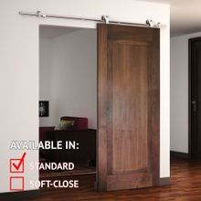 Sliding Barn Door Hardware Kits for Single Wood Doors Up to 39