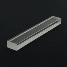 5/8in x 1in | Clear Acrylic Rectangular Bar | 6ft Length