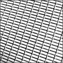3ft x 4ft Press Crimp | Round Wire | Stainless Steel Wire Mesh Sheet