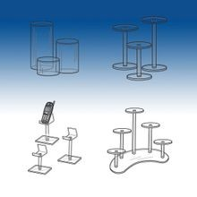 Merchandise Risers and Pedestals