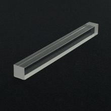 5/8in Square | Clear Acrylic Bar | 6ft Length