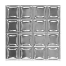 Tin Plated Stamped Steel Ceiling Tile | 2ft Sq