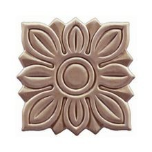 5in W x 5in H | Unfinished Maple Embossed Wood Veneer | Small Applique