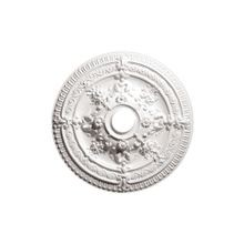 Focal Point | 25-7/8in Dia | Primed White Polyurethane | Decorative Ceiling Medallion