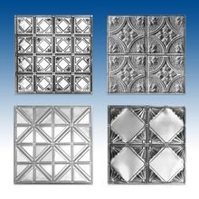 Premium Decorative Stamped Steel Ceiling Panels (Pages S13-S14)