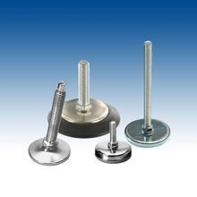 Plastic Base Levelers with Metal Shell