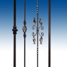 Classic Collection: Square Plain Bar Balusters (Pages W4-W5)