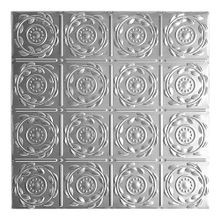 2' Wide x 4' High Copper Nail Up Premium Decorative Stamped Steel Ceiling Panel