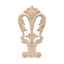 5-1/4in W x 9-7/8in H | Hand Carved Solid North American | Applique