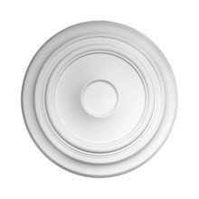32-11/16in Dia | Primed White Polyurethane | Decorative Ceiling Medallion