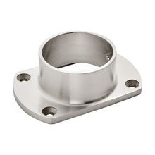 2in Dia | Satin Stainless Steel Finish | Flange