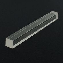 3/4in Square | Clear Acrylic Bar | 6ft Length