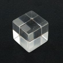 1-1/4in | Clear Acrylic Cube