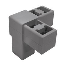 Grey Dupont Super Toughened Nylon 3Way Corner Connector