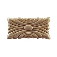 1-1/2in W x 2-13/16in H | Unfinished Maple Embossed Wood Veneer | Small Applique
