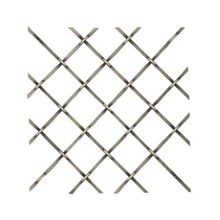 Round Flat Crimp Woven Wire Grill