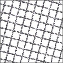 3ft x 4ft Inter Crimp | Round Wire | Stainless Steel Wire Mesh Sheet