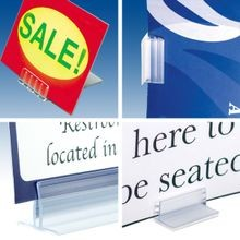 Free Standing and Wall Mount Sign Holders (Pages B12-B13)